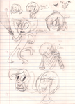 My Driver's Ed Sketches by kimbeepancake