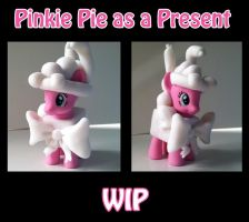 WIP-- Pinkie Pie As A Present by SoulveiWinterfall
