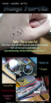 How I work with Manga Pen-Ink-Nib by luien