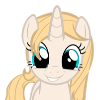 Request - Crystal Rose Cute Face by J-Brony