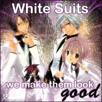 White Suits by Grave-Robber-Jess