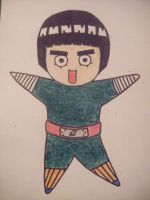 Rock Lee Chibi by HaanaArt