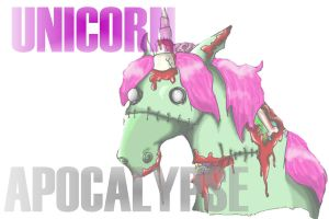 Unicorn Apocalypse Cover 4 by HumbleWriter