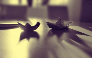Paperboats by LovieLovetree