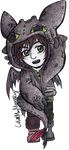 Small: Hiccup (Toothless hoodie) by ColorMyMemory