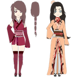 Kimono Type Adoptables #19 .CLOSED. by SicklySatisfied