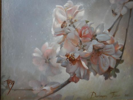 Blooming Apple Tree by timens