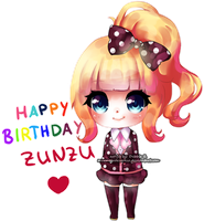 Happy Birthday Zunzu by Marmaladecookie