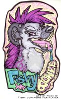 Badge - FishyBoner by misako