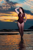 Siren sunset by AngiWallace