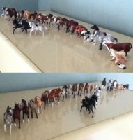 Breyer Stablemates by White--Swallow