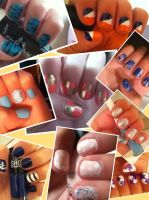 few of my nail designs! by EpicTwizzy