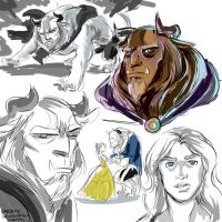 Beast - Sketches by emedeme