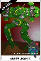BattleTech Collectible Card by Centurion13