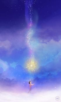 howl's moving castle: falling star. by sugarmints