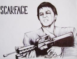 Scarface by LiquidsnakE4