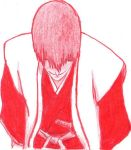 Rejected Drawing #4 Gin Ichimaru *Take 2* by AeliaDarkness