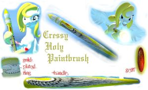 Cressy Holy Paintbrush by Neros1990