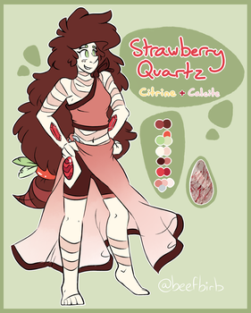 Strawberry Quartz Ref by BeefBirb