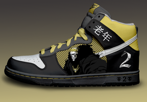 Barragan Custom Nike Dunks by Azrael-Haze