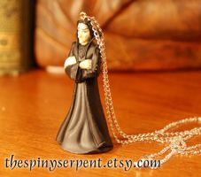Severus Snape Figure Necklace by kittykat01