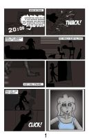 Worm Girl, Page 1 _Revised_ by marverick