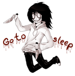 .:Jeff The Killer-Go to Sleep:. by PuRe-LOVE-G-S