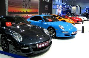 Beautiful Exotics At The Show by toyonda