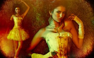 Nina Dobrev wallpaper by Viciousdope