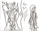 Character Sheet 16: Uncoloured by xxxBrokenSoulxxx