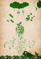 Green Peace by Libra1021