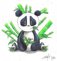 Panda Bear by nightmare58710