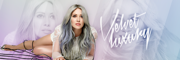 Twitter design feat. Hilary Duff by DontCallMeEve