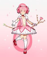 Madoka Kaname by uixela