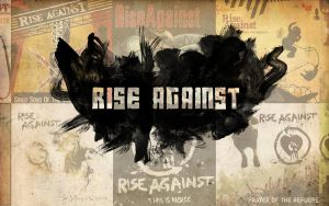 Rise Against Poster by LabsOfAwesome