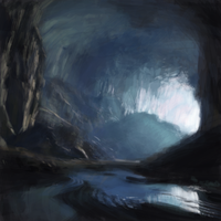 Cave - Landscape Practice by characterundefined