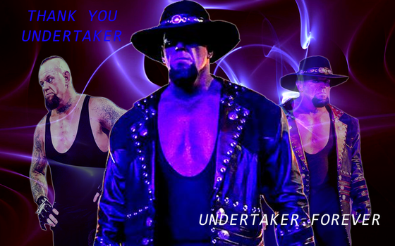 wwe undertaker: Thank you by celtakerthebest