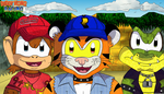 Diddy Kong Racing: J-J-JUNGLE FALLS! by Bowser81889