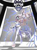 Storm - BW on roughs by Theamat
