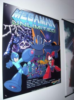 MegaMan Unlimited Poster by MegaPhilX