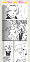 NaruSaku: The Build-Up (part 3) by ChatteArt