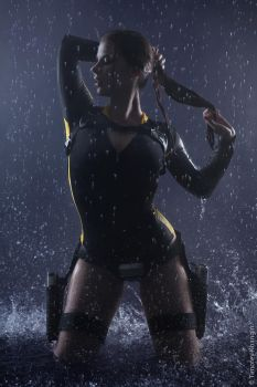 Tomb Raider:Underworld-Lara Croft wetsuit by Anastasya01