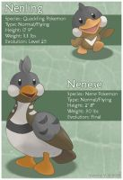 Nene Fakemon by princess-phoenix