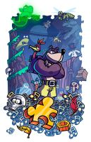 Epic Game Print - Banjo-Kazooie by JoeHoganArt