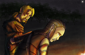 Bioware Couples - Comfort by TheDalishRanger