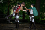 Shingeki no Kyojin ~ you are my prey by LauMao
