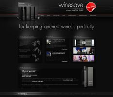 Winesave website - v1 by VictoryDesign