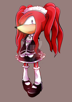 Maid Knuckles by Baitong9194