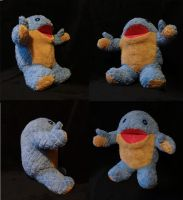 Baby quaggan pack test plushie by Koreena