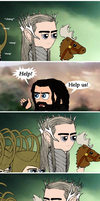 HOBBIT: The Fall Of Erebor by Kumama